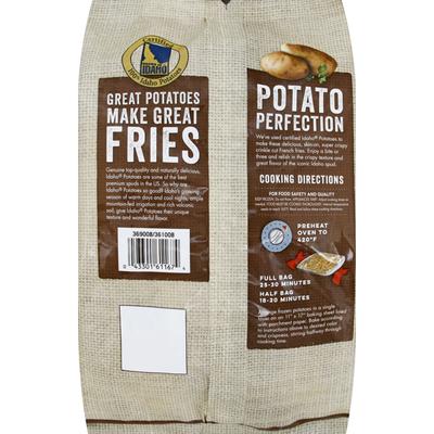 Grown In Idaho Fries, Crinkle Cut, Super Crispy