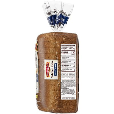 Pepperidge Farm®  Whole Grain Whole Grain 100% Whole Wheat Bread