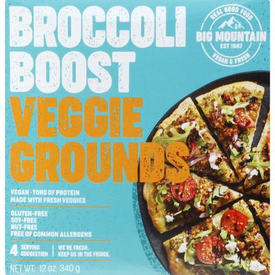 Big Mountain Foods Veggie Grounds, Broccoli Boost