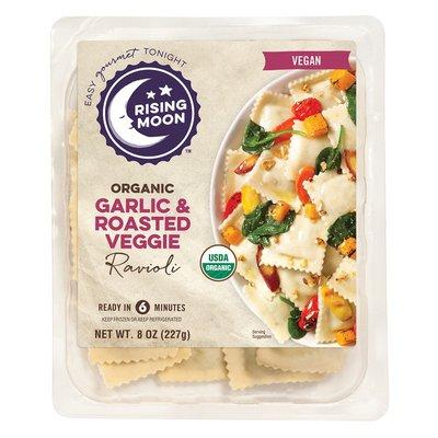 Rising Moon Organic Garlic and Roasted Veggies Ravioli