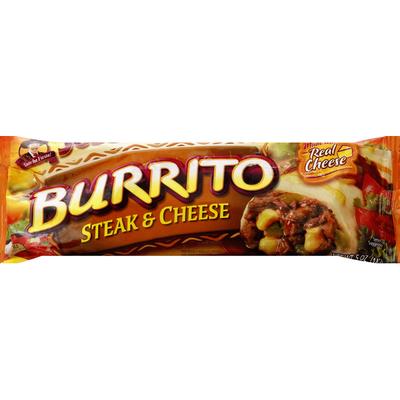 Jose Ole Burrito, Steak & Cheese