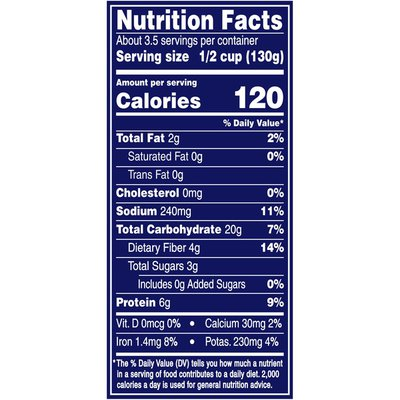 Bush's Best Reduced Sodium Garbanzo Beans