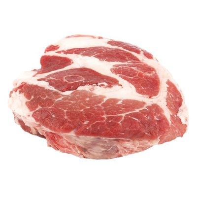 FIRST STREET    Bone-In Pork Shoulder Steak