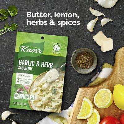 Knorr Sauce Mix Garlic & Herb