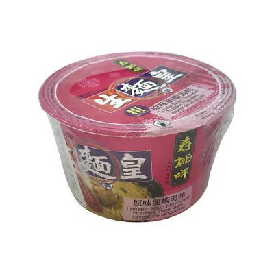 Sun Shun Fuk Sau Tao Lobster Soup Flavored Thick Instant Noodle King