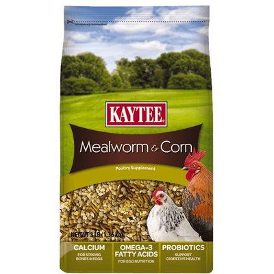 Kaytee Mealworms & Corn Treat Supplement