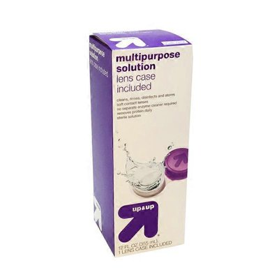 Up&Up Multipurpose Contact Solution With Case