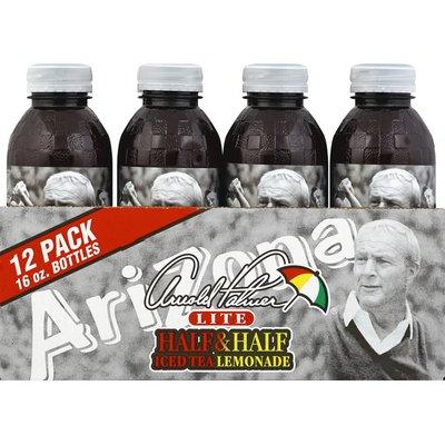 Arizona Half & Half, Iced Tea Lemonade, Lite, 12 Pack