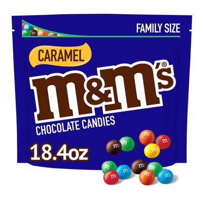 M&M's Caramel Chocolate Candy Family Size