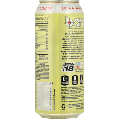 Bang Brain and Body Fuel, Potent, Pina Colada