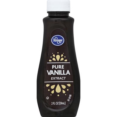 Kroger Vanilla Extract, Pure