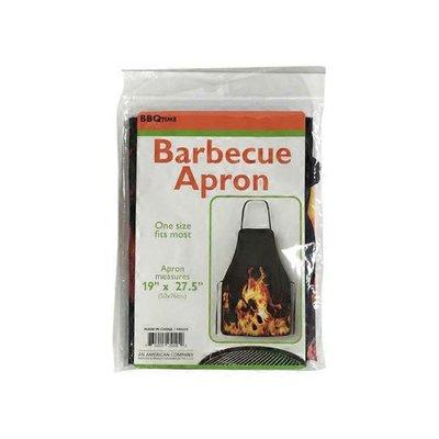 Kole Imports Barbecue Apron With Flame Design