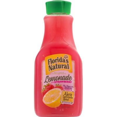 Florida's Natural Lemonade with Strawberry