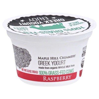 Maple Hill Creamery Raspberry Greek Yogurt