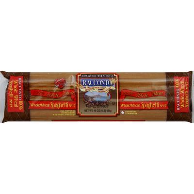 RACCONTO Spaghetti, Whole Wheat, No. 17