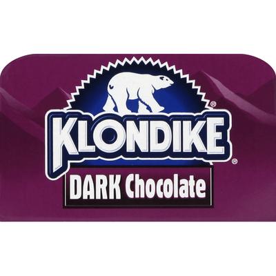 Klondike Frozen Dairy Dessert Bars Dark Chocolate