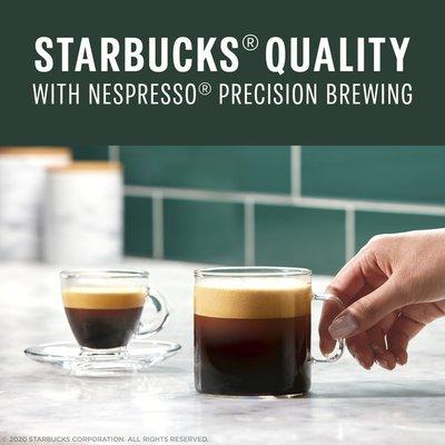 Starbucks Coffee Capsules for Nespresso Vertuo Machines — Medium Roast Pike Place Roast