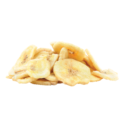 Unsweetened Banana Chips, Bulk