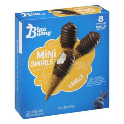 Blue Bunny Vanilla Cones