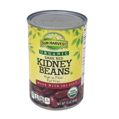Sun Harvest Organic Dark Red Kidney Beans