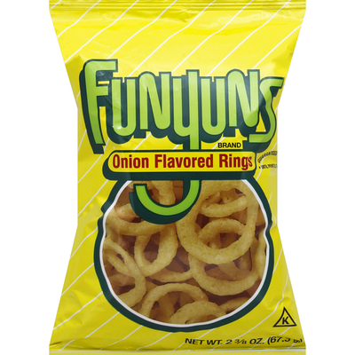 FUNYUNS Regular Flavor Onion Flavored Rings