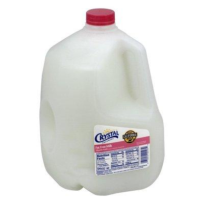 Crystal Creamery Milk, Fat Free