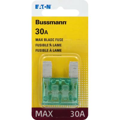 Bussmann Blade Fuse, MAX, 30A