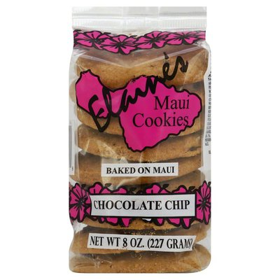 Elaines Maui Cookies Cookies, Chocolate Chip