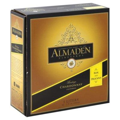 Almaden Chardonnay White Wine