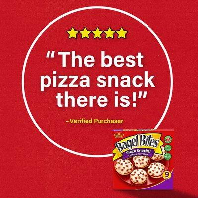 Bagel Bites Cheese & Pepperoni Pizza Snacks