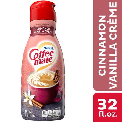 Coffee mate Cinnamon Vanilla Creme Liquid Coffee Creamer