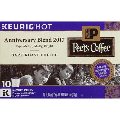 Peet's Coffee Anniversary Blend 2017 Dark Roast K-Cup® Pods Coffee