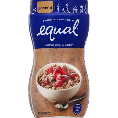 Equal Sweetener, Zero Calorie, Granulated
