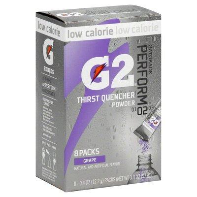 Gatorade Thirst Quencher Powder, 02 Perform, Grape