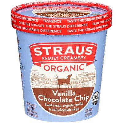 Straus Family Creamery  Organic Vanilla Chocolate Chip Ice Cream