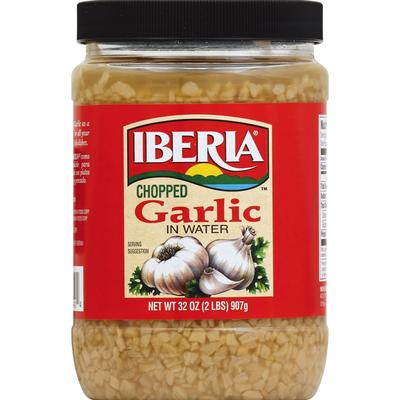 Iberia Garlic In Water Chopped
