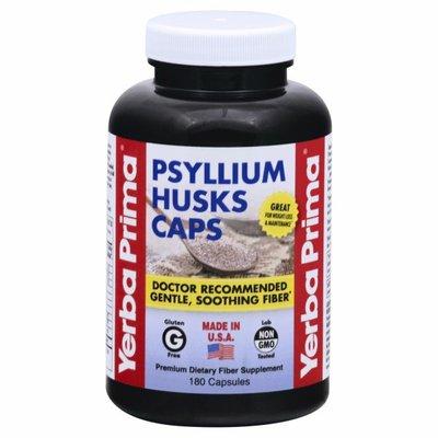 Yerba Prima Psyllium Husks Caps, Capsules