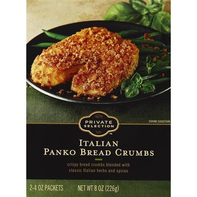 Private Selection Bread Crumbs, Panko, Italian