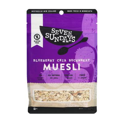 Seven Sundays Wild & Free Blueberry Chia Buckwheat Muesli