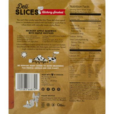 Tofurky Deli Slices, Plant-Based, Hickory Smoked