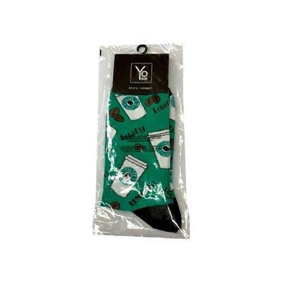 Yo Sox Coffee Men's Crew Socks