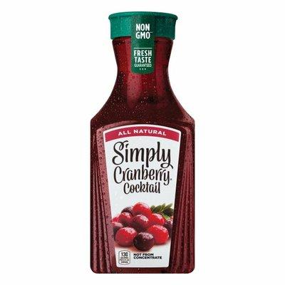 Simply Cranberry Cocktail Fruit Juice