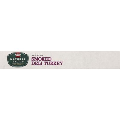 Hormel Natural Choice Smoked Deli Turkey
