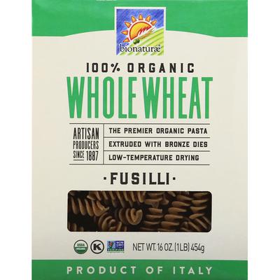 bionaturae Fusilli, Organic, Whole Wheat