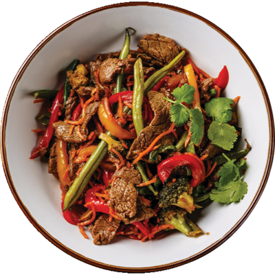 The Butcher Shop 100% Grass Fed Beef Stir Fry, Package