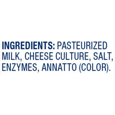 Crystal Farms Cracker Cuts Mild Cheddar Cheese Slices