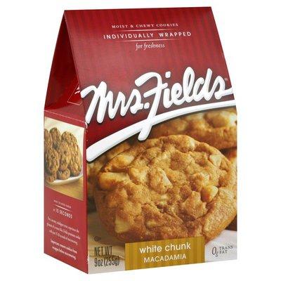 Mrs. Field's Cookies, White Chunk Macadamia