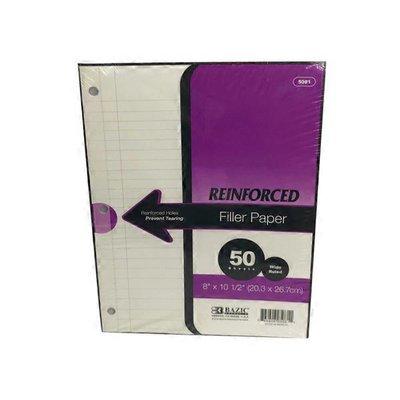 Bazic Wide Ruled Reinforced Filler Paper