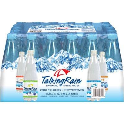 Talking Rain Sparkling Variety Pack, 30 x 16.9 oz