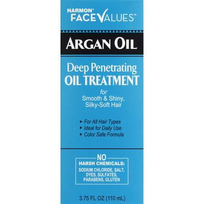 Face Values Argan Oil, Deep Penetrating Oil Treatment